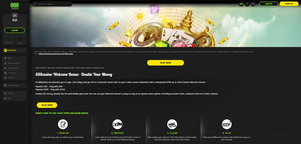 Online Casino 888 Top Games Bonuses Bettingy Com